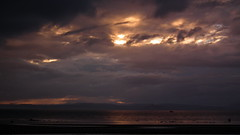 A grizzly sunset for an Airshow (Screwdriver32,more off than on :-() Tags: screwdriver32 screwy32 scotland southayrshire ayr ayrshire ayrshirecoast ayrshore airshow aircraft display dusk fuji finepix fujifilm hs10 hs11 areoplane flying sky 2016 formation