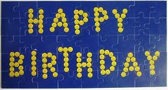 Happy Birthday Smiley-Puzzlekarte (Leonisha) Tags: puzzle jigsawpuzzle smileys geburtstag birthday