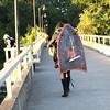 Wake Boarder on the Bridge (dsgetch) Tags: autzen autzenfootbridge willamette willametteriver wake board