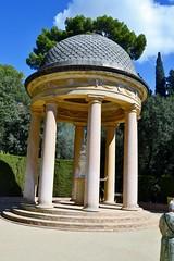 TEMPLET D'ARIADNA (PARC DEL LABERINT D'HORTA) (Yeagov_Cat) Tags: 2016 barcelona catalunya templet columnesdestiltoscà templetdestilitalià parcdellaberintdhorta templetdariadna ariadna