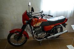 Jawa 350 (onzinka) Tags: moto muzeum motomuzeum elezn ruda sumava motor motorcycles driving school modification jawa 350