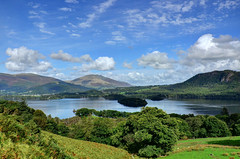 Derwent Water, Lake District (Baz Richardson (now away for a few days)) Tags: cumbria lakedistrict derwentwater blencathra lakes mountains keswick