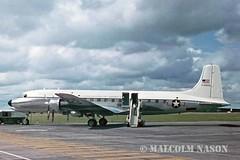 DOUGLAS VC118A 53-3229 USAF (shanairpic) Tags: military dc6 c118 douglasc118 shannon usaf 033229 533229