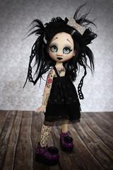 Morty (Vali.Tox.Doll) Tags: nymphette nympheas doll k6 bjd tiny elf resin ball jointed eyes safrin wig fur black dark
