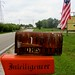 Mailboxes and Stars & Stripes