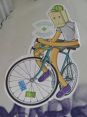 Graff in Berlin (brigraff) Tags: urban streetart berlin pasteup art collage sticker freestyle arte panasonic urbanart cycle bicyclette fahrrad vlo papiercoll fz150 vect vectorian brigraff panasonicfz150