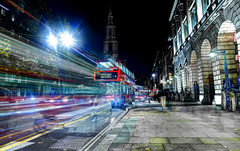 The Strand (Anatoleya) Tags: light 3 london night strand canon prime evening long exposure mark f14 iii trails 5d 24mm hdr f14l 5d3 anatoleya