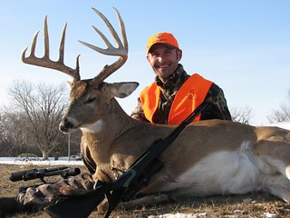 Kansas Trophy Whitetail Bow Hunt 18