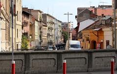 Canalului Morii (Mill Canal) along Strada Andrei Şaguna - Cluj-Napoca, Jud. Cluj, Romania (Wayne W G) Tags: street streets europe streetphotography easterneurope cluj clujnapoca geo:country=romania