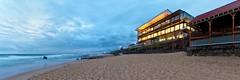 Merewether Surfhouse (Torkn2U) Tags: ocean panorama beach dawn sand pano merewether surfhouse