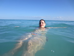 Enjoying the Beach (knicole7) Tags: vacation beach water mexico playadelcarmen 2012 waterproofcamera yucatanpenninsula