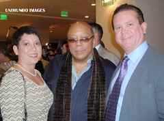 Norma Fontain, Quincy Jones and Marcus Fontain (Unimundo) Tags: quincy jones marcus norma fontain