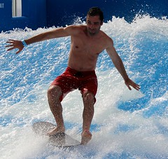 FlowRider (LarryJay99 ) Tags: cruise people man male caribbean flowrider stockcategories canonefs18135mmf3556is allureofthesea
