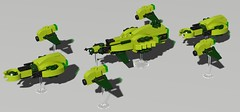 Untitled fleet2[1] (Sunder_59) Tags: lego space spaceship battleship fleet moc ldd