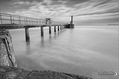 Amble Pier (Ian Flanagan) Tags: