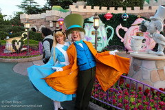 Character fun in Fantasyland