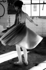 (spre0425) Tags: blackandwhite girl canon dance spin dancer twirl t2i thechallengefactory herowinner storybookwinner