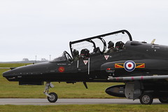 RAF Hawk ZK020 (John Ambler) Tags: way for with hawk taxi tail year systems special valley 100 1912 bae runway 32 raf 2012 t2 zk020