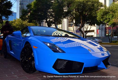 2008 Lamborghini Gallardo Spyder Blue Chrome Gallardo Spyder 0