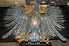 Metal Eagle Ornament from ship Vaterland (The Mariners' Museum Collections) Tags: metal virginia ship eagle wwi worldwari ornament german leviathan newportnews marinersmuseum vaterland hamburgamericanline