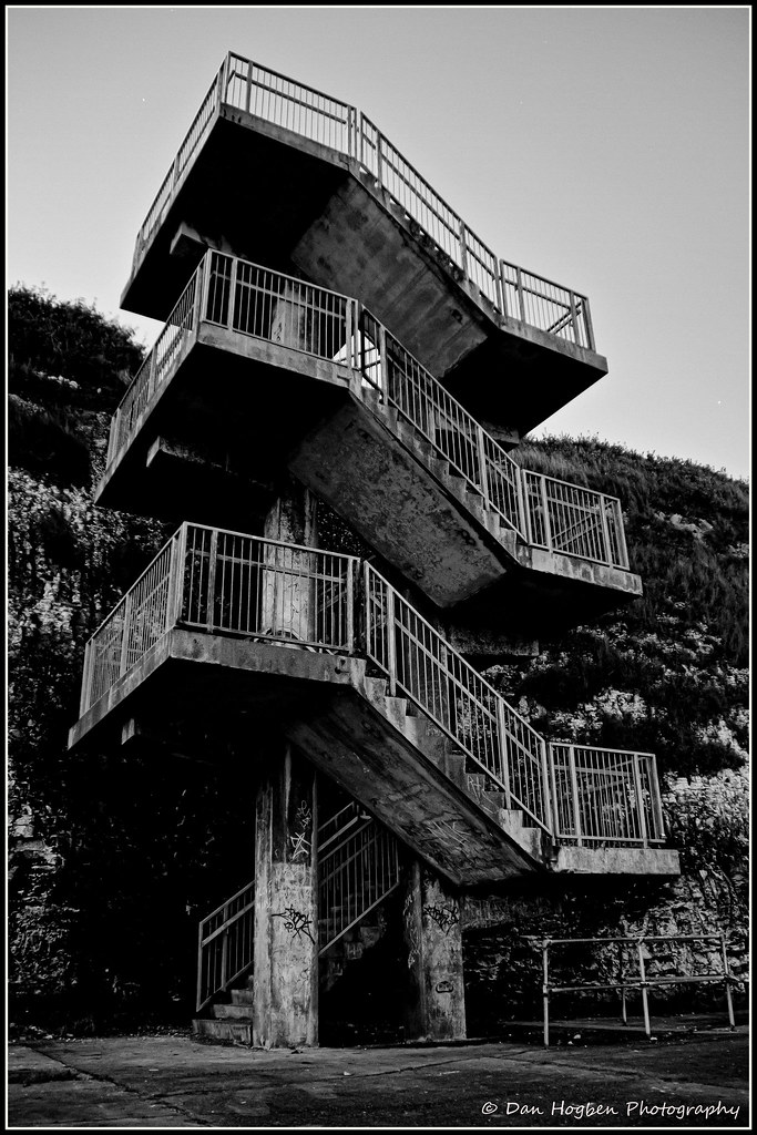 Concrete stairs, Walpole Bay, Margate