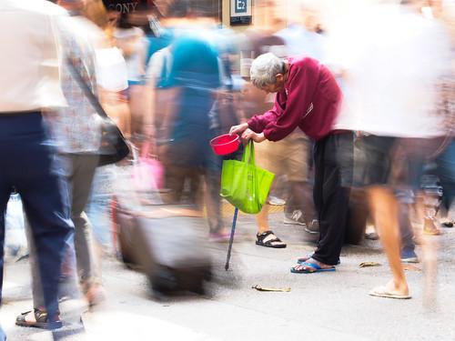 Beggar blur