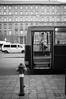 Hátsó ajtó - Backdoor (SpeNoot) Tags: street door bw bus hydrant budapest nike nocrop backdoor busz máv ajtó tűzcsap hátsóajtó