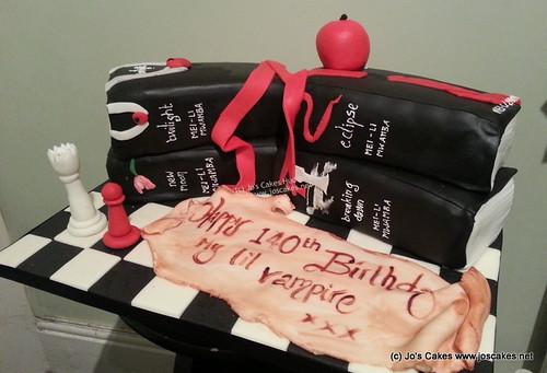 Awe Inspiring Twilight Birthday Cake Books A Photo On Flickriver Funny Birthday Cards Online Overcheapnameinfo