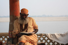 Varanasi Spirituality (Marco Monzio C.) Tags: city india river prayer calm holy varanasi spirituality incredible ganga ganges