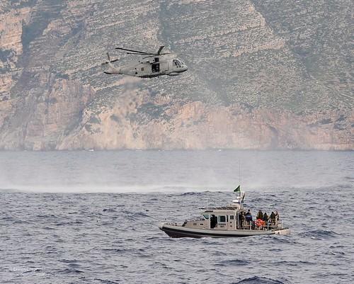 uk aircraft military free equipment helicopter international merlin british albanian albania defense partnership defence boarding joint atsea nato cooperation adriaticsea royalnavy hmmk1 boardex 814squadron