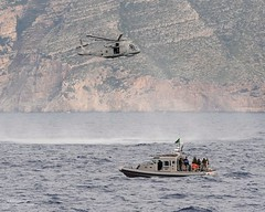 uk aircraft military free equipment helicopter international merlin british albanian albania defense partnership defence boarding joint atsea nato cooperation adriaticsea royalnavy hmmk1 boardex 814squadron