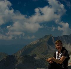Barbara e il Monte Frerone (drugodragodiego) Tags: italy mountain mountains landscape pentax climbing barbara alpi montagna lombardia k5 breno bagolino vallecamonica blumone provinciadibrescia lagodellavacca valledelcaffaro parcodelladamello pentaxk5 smcpentaxda18135mmf3556edalifdcwr