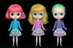 Color Explosion collection for Blythe