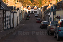 Findochty Street (Ron Pettitt) Tags: street houses cars scotland vehicles colourful narrow findochty ronpettitt pentaxk5