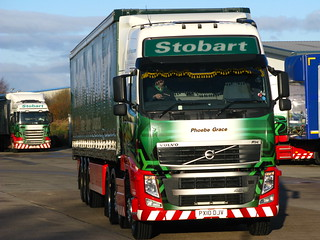 Eddie Stobart , Volvo FH460 (Phoebe Grace) Mark Dixon,s truck