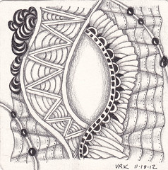 string 018 tile (val71655) Tags: tile string zentangle