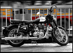From Canon to the Bullet (Sam Gupta Photography) Tags: india classic bike royal motorcycles 350 bullet kolkata enfield hoya westbengal canoneos60d canonefs18200mmis samguptaphotography