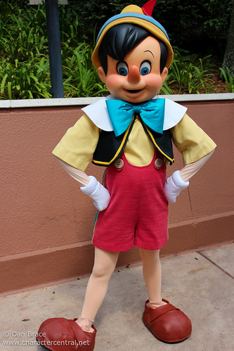 Pinocchio At Disney Character Central