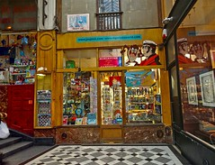 Le passage Verdeau Drouot Paris France (Rolye) Tags: paris france drouot passageverdeau parisgrandsmagasins