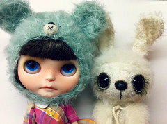 Bear and bunny :D