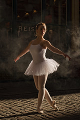 Graceful (MartinCPhotos) Tags: uk london zoe nikon ballerina martin market megan leadenhall d600