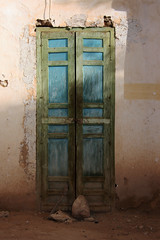 Ksar Oulad Abdelhalim, Morocco 2012 (sensaos) Tags: africa door old travel muslim north culture du morocco maroc marocco afrika circuit nord ksar 2012 touristique afrique noord rissani oulad abdelhalim sensaos