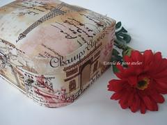 Maleta M (estrela de pano atelier) Tags: em cartonagem maletinha