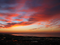 A beautiful sunrise (niscratz) Tags: france sunrise europe larochelle 2012 ourdailychallenge