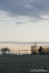 """At The End Of The Day ..."" (DMeadows) Tags: trees winter sunset cold field grass silhouette frozen football goal frost glasgow silhouettes pitch posts goalpost pollok goalposts davidmeadows dmeadows davidameadows dameadows yahoo:yourpictures=yourbestphotoof2012"