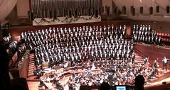 San Francisco Gay Men's Chorus (SFGMC) in tuxes at Davies Symphony Hall 11-6-12 with Tom Pyun circled (delight.1027) Tags: sfgmc sanfranciscogaymenschorus tompyun