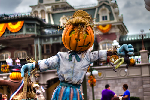 Pumpkin Head at Disney