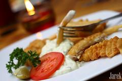 Fish n Chips (Jareeeeek) Tags: food fish indonesia yummy delicious fries fancy bandung fried mayonaise foodphotography