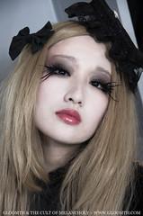 Carmilla (gloomth) Tags: grave hat dark ruffles dolls vampire gothic goth victorian eerie story coffin bonnet vampires carmilla gloomth