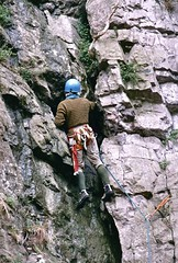 From my Archive - Rock climbing (Juanito Moore ( John Moore )) Tags: sea england rescue rock bristol helmet climbing moore harness swanage juanito juanitomoore